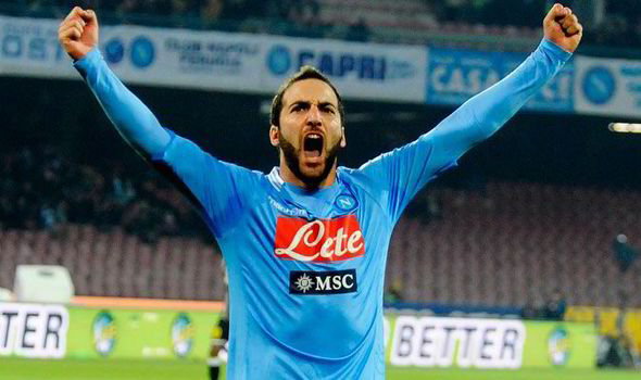 Higuain happy at Napoli amid Barca link; Jackson Martinez to decide future after World Cup