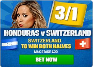 Switzerland honduras betting betting rant t-factor diet recipes