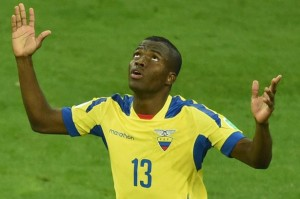 Ecuador star Enner Valencia is believed to have caught the attention of a number of Premier league clubs