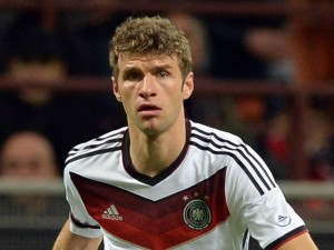 Bayern Munich attacker Thomas muller was the hero for Germany, as he bagged a hat-trick his country's 4-0 victory over ten-man Portugal