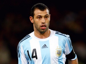 Midfielder Javier Mascherano was outstanding for Argentina  as they defeated Holland on penalty kicks to progress to the World Cup final