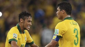 Brazil face Germany in tonight's World Cup semi-final without key duo Thiago Silva and Neymar