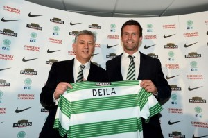 Celtic boss Ronny Deila saw his team exit the Champions League at the third qualifying round last night
