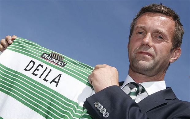 Ronny Deila's Celtic lost 1-0 to Maribor in the Champions League play-off last night to exit the competition