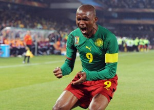 Cameroon legend Samuel Eto'o looks set for a move to Everton