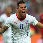 Chile international forward Eduardo Vargas has joined QPR on a season-long loan deal