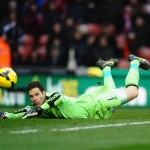 Stoke City F.C. manager Mark Hughes has ruled out the possibility of goalkeeper Asmir Begovic leaving the club during the current transfer window.