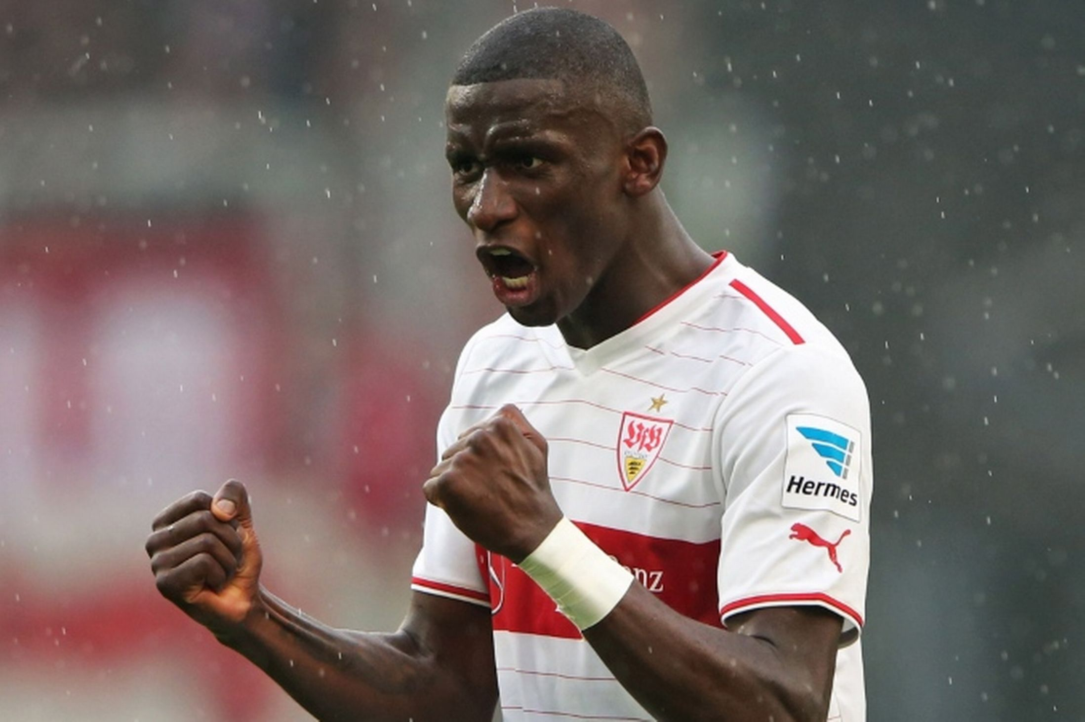 VfB Stuttgart centre-back Antonio Rudiger has admitted he is flattered by reports linking him with a move to Manchester United.