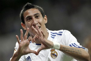 Real Madrid star Angel Di Maria is being heavily linked with a move to Manchester United