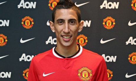 Argentinian star Angel Di Maria impressed on his home debut as Manchester United defeated QPR 4-0 on Sunday