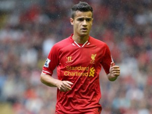 Liverpool's Phillipe Coutinho was outstanding against Manchester City