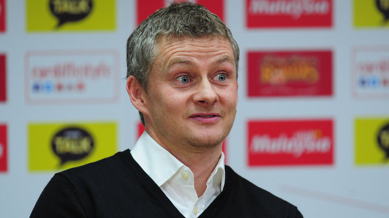 Former-Manchester United striker Ole Gunnar Solskjaer left his position as boss of Cardiff with the Bluebirds struggling in the Championship