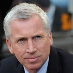 Newcastle boss Alan Pardew saw his team lose 1-0 at Stoke on Monday night