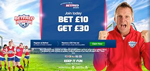 Bet £10, get £30 at Betfred