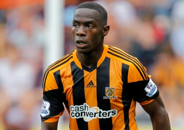 Hull City defender Maynor Figueroa has returned to Wigan Athletic on a one-month loan deal.