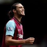 West Ham United striker Andy Carroll is prepared to fight for a place in the Hammers' first-team when he returns from injury.