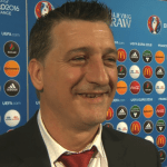 Gibraltar boss Allen Bula has not much to smile about as his team have lost their first two competitives games 7-0 in Euro 2016 qualifying