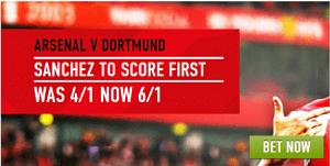 Arsenal vs dortmund betting odds bettinger gartenbad fechenheim