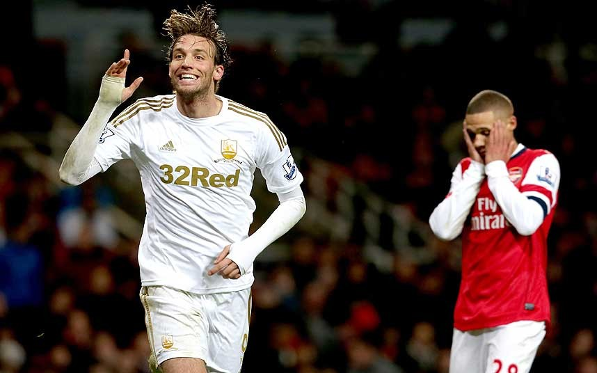 Swansea City manager Garry Monk has insisted the club will not recall Michu from his season-long loan at Napoli when Wilfried Bony leaves to play in the Africa Cup of Nations in January.