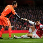 Stoke City goalkeeper Asmir Begovic has insisted he is happy at the Britannia Stadium amid ongoing speculation linking him with a move to Liverpool.