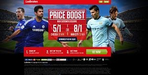 Chelsea vs city LP EN  opt 1 300x152 Chelsea v Man City – Get Chelsea at 5/1 or Manchester City at 8/1