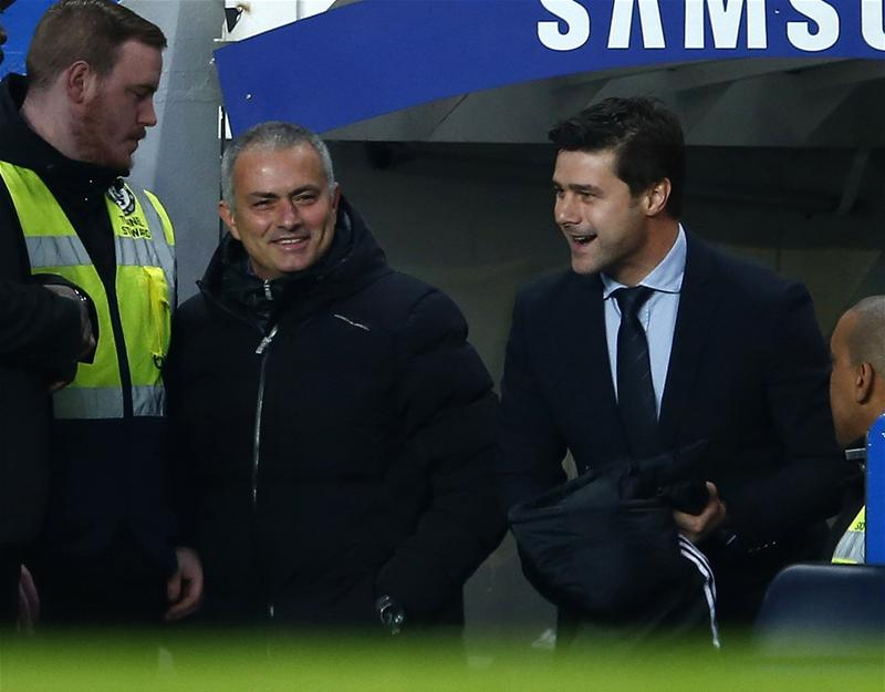 Who will come out on top between Chelsea's Jose Mourinho and Tottenham's Mauricio Pochettino on Sunday?