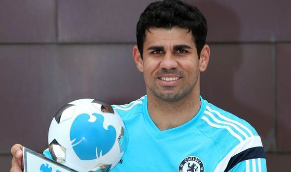 Chelsea striker Diego Costa is one of the contenders to win Player of the Year