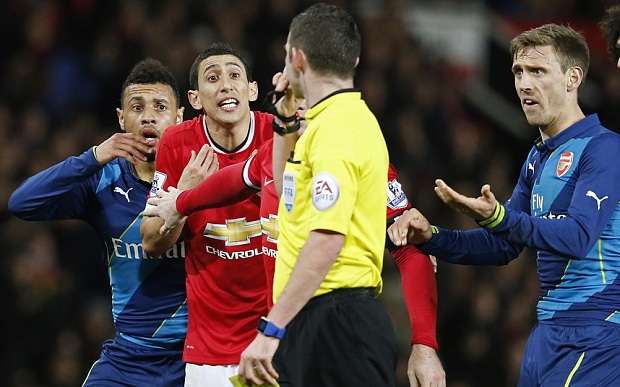 LVG - Di Maria has 'no excuses' for red card
