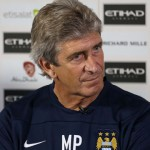 Manchester City boss Manuel Pellegrini saw his side fall to a 2-1 defeat at Liverpool on Sunday