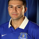 Paraguayan centre-back Antolin Alcaraz endured a difficult night as Everton suffered a 5-2 defeat against Dinamo Kiev to exit the Europa League at the last-16 stage