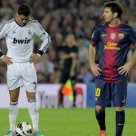 The world's best two players Cristiano Ronaldo and Lionel Messi come face-o-face in Sunday's El Clasico