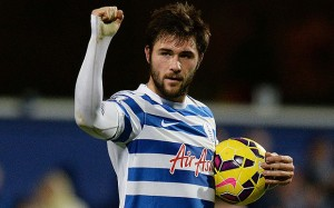 Charlie Austin scored his 17th Premier League goal of the season in QPR's 3-3 draw at Aston Villa on Tuesday night