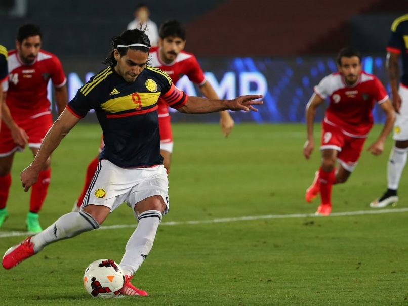 Colombia striker Radamel Falcao has returned to Manchester United full of confidence after scoring three goals for his country during the international break.