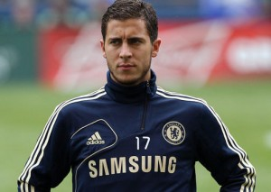 Belgium playmaker Eden Hazard was again Chelsea's star man as the Blues won 2-1 against Stoke on Saturday
