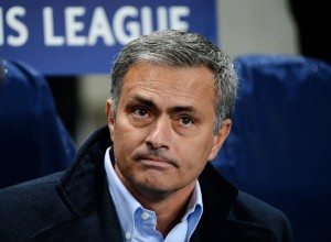 Chelsea boss Jose Mourinho looks set to add another Premier League title to his burgeoning collection of silverware