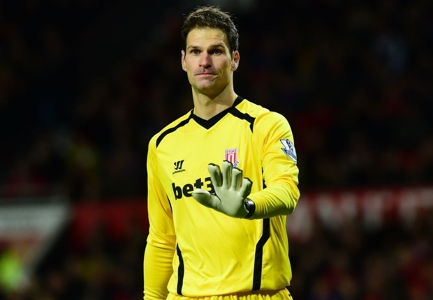 Stoke City F.C. manager Mark Hughes has rubbished reports linking highly-rated goalkeeper Asmir Begovic with a summer move away from the Britannia Stadium.