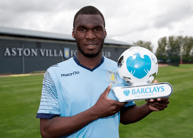 Aston Villa F.C. manager Tim Sherwood believes Christian Benteke is, at the moment, the best striker in Europe.