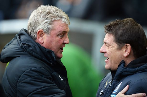Hull boss Steve Bruce and Newcastle counterpart John Carver are in for a nervy afternoon