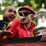 Arsenal F.C. midfielder Jack Wilshere has revealed he was surprised by his FA charge for swearing at the club's FA Cup victory parade in London.