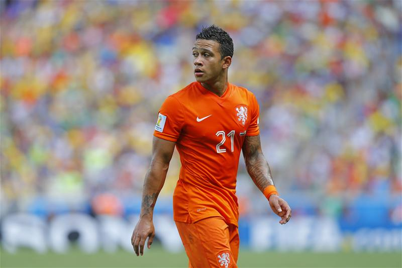 Manchester United have completed the signing of forward Memphis Depay from PSV Eindhoven on a four-year deal.