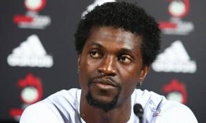 According to various reports Aston Villa are targeting Emmanuel Adebayor as a replacement  for Christian Benteke