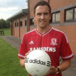 Middlesbrough F.C. midfielder Albert Adomah hopes the arrival of Stewart Downing from West Ham United will help the club's quest for promotion to the English Premier League.