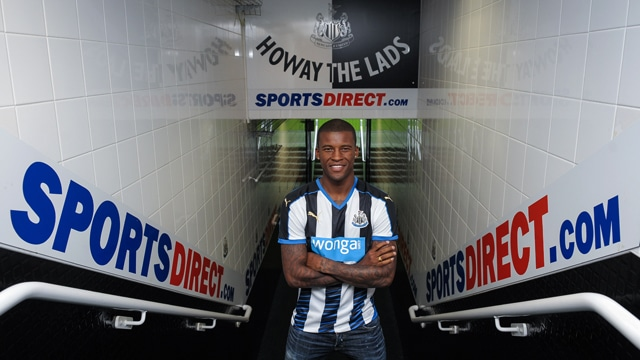 Newcastle United have completed the signing of highly-rated midfielder Georginio Wijnaldum from PSV Eindhoven.