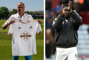Andre Ayew and Bafetimbi Gomis have started the season in good form for Swansea