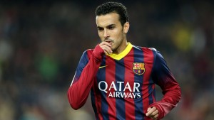 Barcelona winger Pedro has been heavily linked with a move to Manchester United