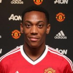French striker Anthony Martial scored a brace in Manchester United's 3-2 victory over Southampton on Sunday