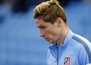 Atletico Madrid striker Fernando Torres is enjoying the most prolific form of the last few years.