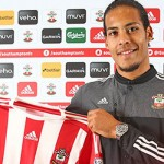 Southampton F.C. have completed the signing of defender Virgil van Dijk from Scottish Premier League champions Celtic.