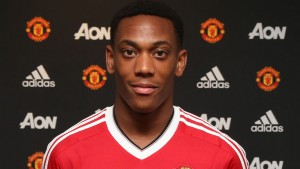 Young French striker Anthony Martial has made a bright start to his Manchester united career
