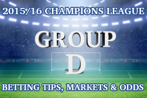 2015/2016 Champions League Group D Betting Tips, Outrights & Odds
